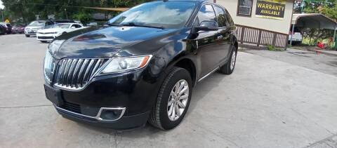 2013 Lincoln MKX for sale at AUTOTEX FINANCIAL in San Antonio TX