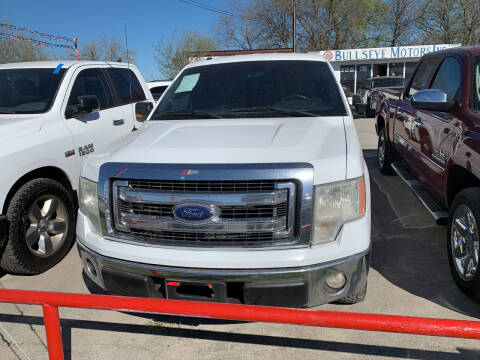 2014 Ford F-150 for sale at BULLSEYE MOTORS INC in New Braunfels TX