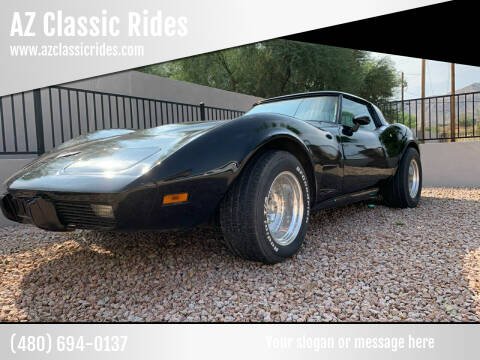 1978 Chevrolet Corvette for sale at AZ Classic Rides in Scottsdale AZ