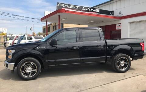 2016 Ford F-150 for sale at FAST LANE AUTO SALES in San Antonio TX