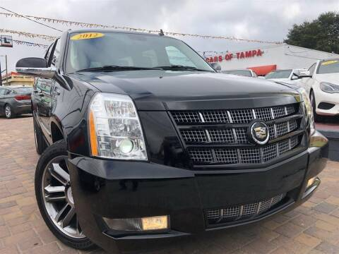 2012 Cadillac Escalade ESV for sale at Cars of Tampa in Tampa FL
