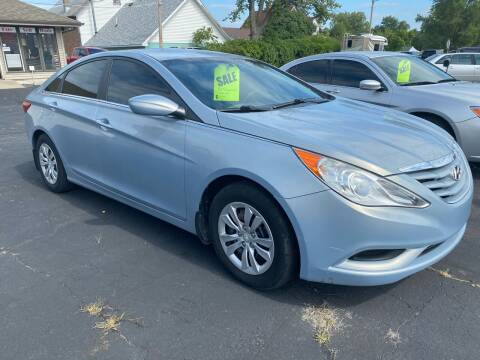 2011 Hyundai Sonata for sale at MARK CRIST MOTORSPORTS in Angola IN