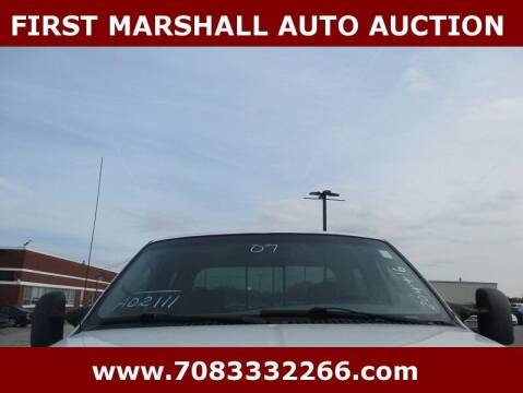 2007 Ford F-250 Super Duty for sale at First Marshall Auto Auction in Harvey IL