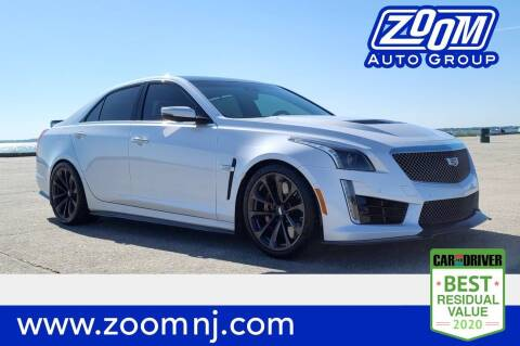 2017 Cadillac CTS-V for sale at Zoom Auto Group in Parsippany NJ