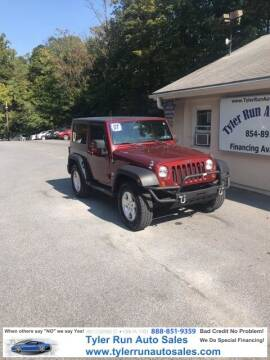 2007 Jeep Wrangler for sale at Tyler Run Auto Sales in York PA