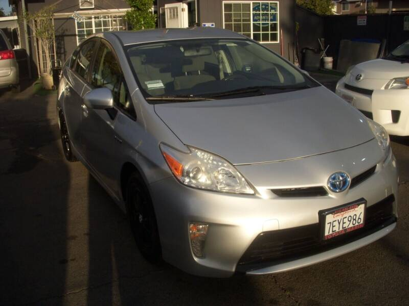 2014 Toyota Prius for sale at Alliance Auto Group Inc in Fullerton CA