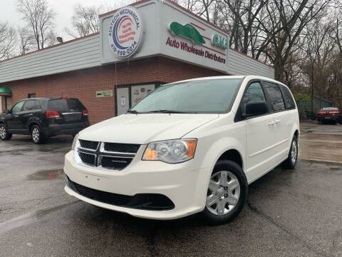 2012 Dodge Grand Caravan for sale at GMA Automotive Wholesale in Toledo OH