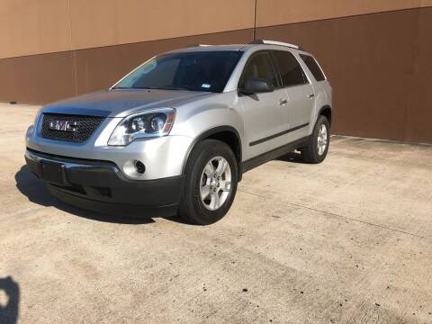 2011 GMC Acadia for sale at ALL STAR MOTORS INC in Houston TX
