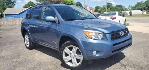 2007 Toyota RAV4 for sale at Sinclair Auto Inc. in Pendleton IN