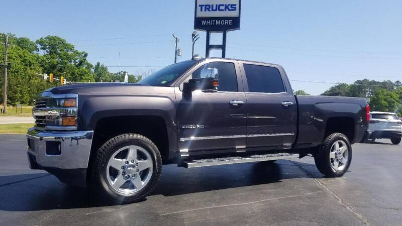 2015 Chevrolet Silverado 2500HD for sale at Whitmore Chevrolet in West Point VA