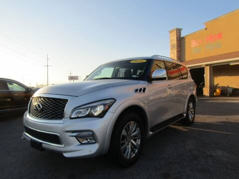 2016 Infiniti QX80 for sale at Import Motors in Bethany OK