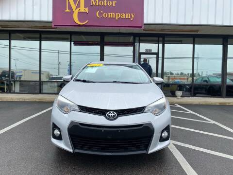 2016 Toyota Corolla for sale at East Carolina Auto Exchange in Greenville NC