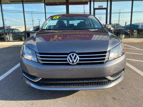 2015 Volkswagen Passat for sale at East Carolina Auto Exchange in Greenville NC