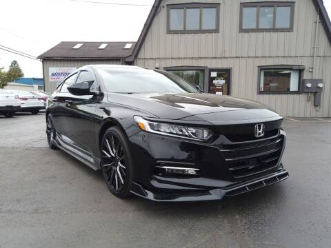 2020 Honda Accord Hybrid for sale at RS Motors in Falconer NY