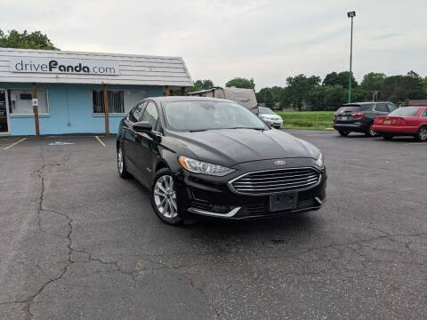 2019 Ford Fusion Hybrid for sale at DrivePanda.com in Dekalb IL