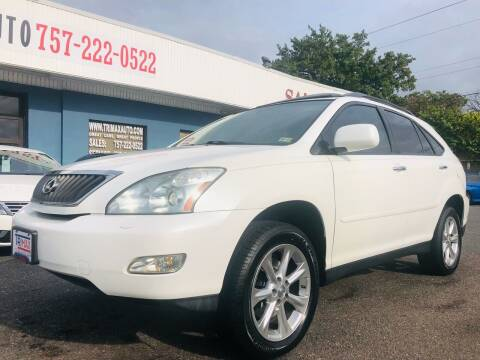 2008 Lexus RX 350 for sale at Trimax Auto Group in Norfolk VA