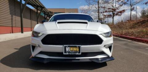 2018 Ford Mustang for sale at VIking Auto Sales LLC in Salem OR