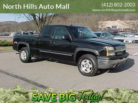 2004 Chevrolet Silverado 1500 for sale at North Hills Auto Mall in Pittsburgh PA