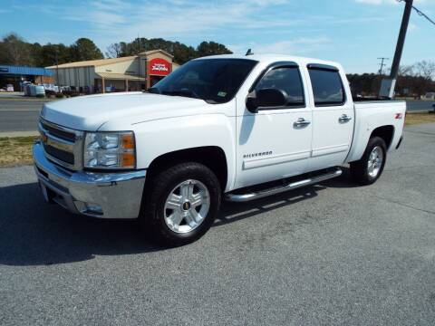 2012 Chevrolet Silverado 1500 for sale at USA 1 Autos in Smithfield VA