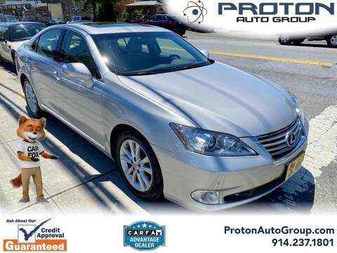 2012 Lexus ES 350 for sale at Proton Auto Group in Yonkers NY
