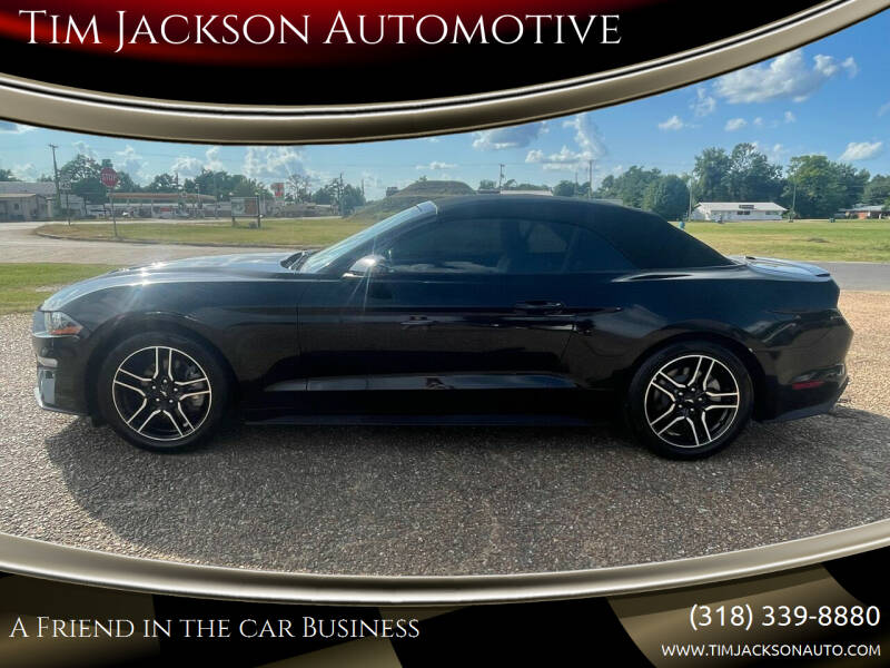 2018 Ford Mustang for sale at Tim Jackson Automotive in Jonesville LA