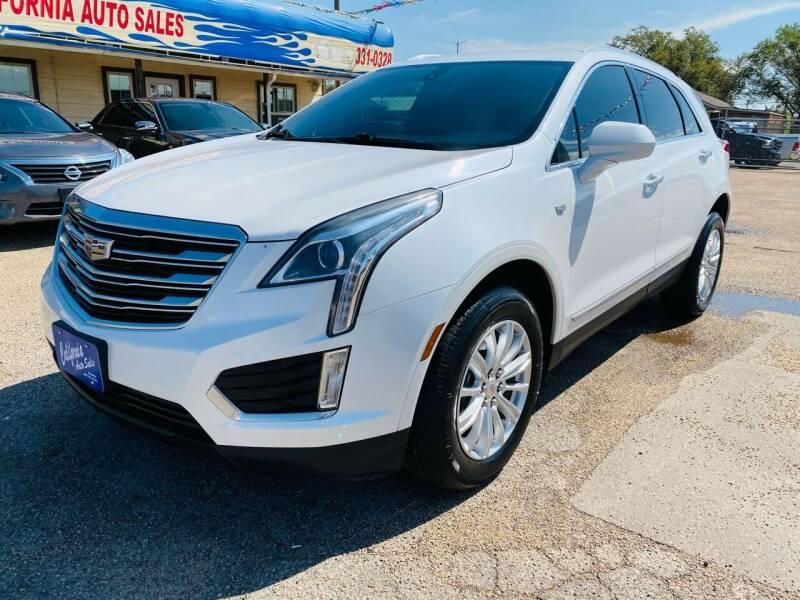 2017 Cadillac XT5 for sale at California Auto Sales in Amarillo TX