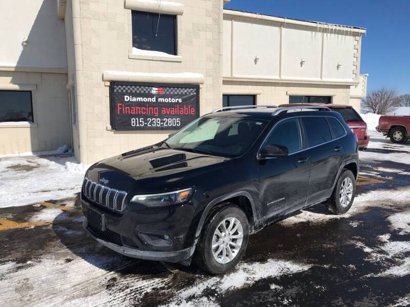 2019 Jeep Cherokee for sale at Diamond Motors in Pecatonica IL