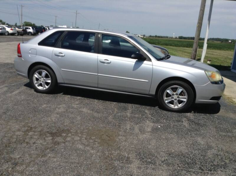 2005 Chevrolet Malibu Maxx for sale at Kevin's Motor Sales in Montpelier OH