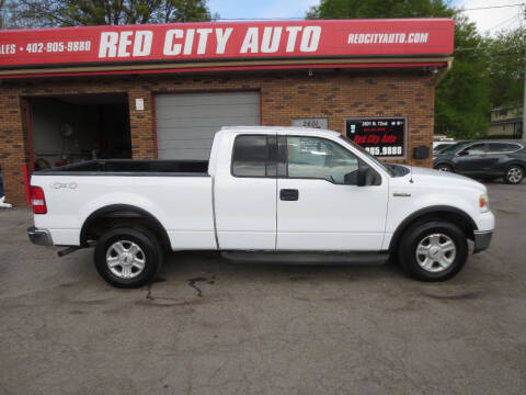 2004 Ford F-150 for sale at Red City  Auto in Omaha NE