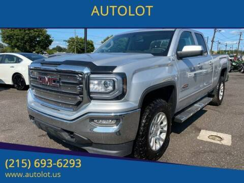 2018 GMC Sierra 1500 for sale at AUTOLOT in Bristol PA