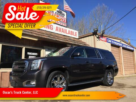 2017 GMC Yukon XL for sale at Oscar's Truck Center, LLC in Houston TX