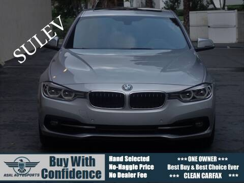 2016 BMW 3 Series for sale at ASAL AUTOSPORTS in Corona CA