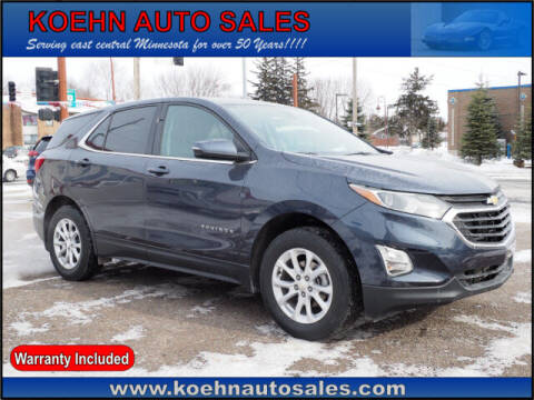 2018 Chevrolet Equinox for sale at Koehn Auto Sales in Lindstrom MN