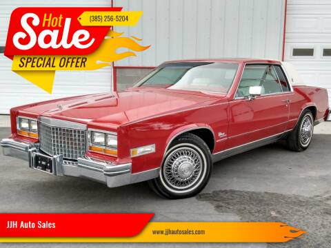 1980 Cadillac Eldorado for sale at JJH Auto Sales in Salt Lake City UT