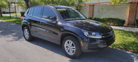 2012 Volkswagen Tiguan for sale at USA BUSINESS SOLUTIONS GROUP in Davie FL