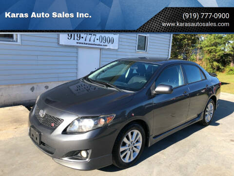 2010 Toyota Corolla for sale at Karas Auto Sales Inc. in Sanford NC
