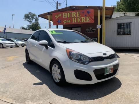 2012 Kia Rio 5-Door for sale at ASHE AUTO SALES, LLC. - ASHE AUTO SALES in Dallas TX