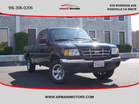 2003 Ford Ranger for sale at Armani Motors in Roseville CA