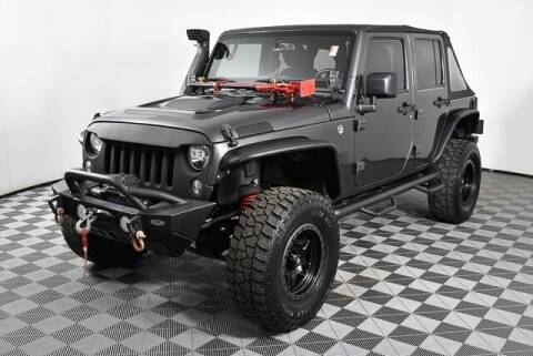 2017 Jeep Wrangler Unlimited for sale at Southern Auto Solutions - Georgia Car Finder - Southern Auto Solutions-Jim Ellis Volkswagen Atlan in Marietta GA