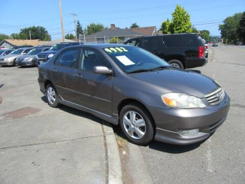 2004 Toyota Corolla for sale at Car Link Auto Sales LLC in Marysville WA