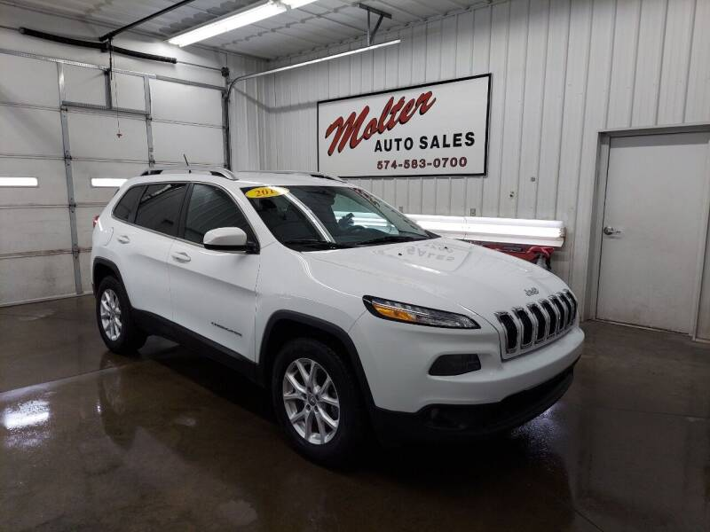 2018 Jeep Cherokee for sale at MOLTER AUTO SALES in Monticello IN