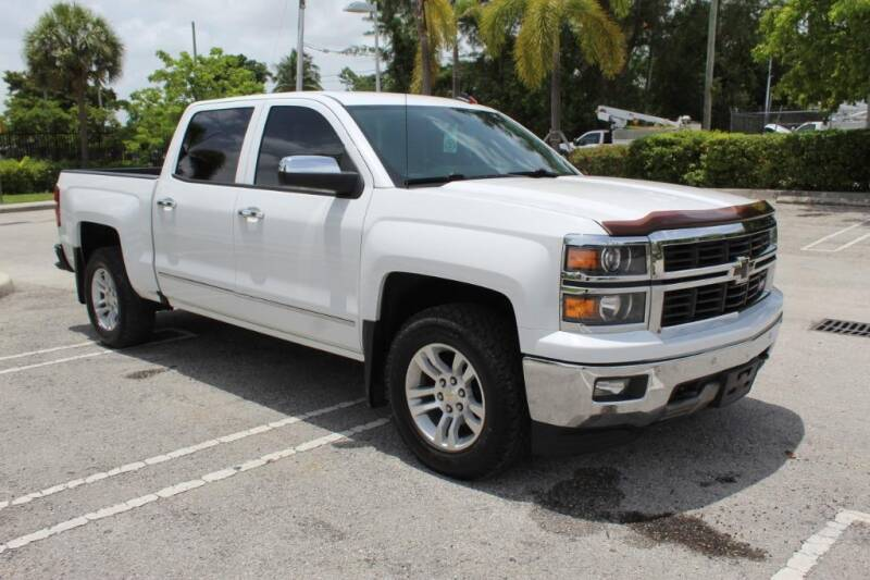 2014 Chevrolet Silverado 1500 for sale at Truck and Van Outlet in Miami FL