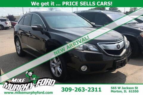 2014 Acura RDX for sale at Mike Murphy Ford in Morton IL