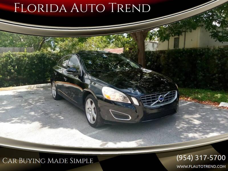 2013 Volvo S60 for sale at Florida Auto Trend in Plantation FL
