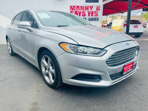 2013 Ford Fusion for sale at Manny G Motors in San Antonio TX