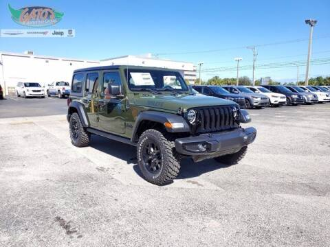 2021 Jeep Wrangler Unlimited for sale at GATOR'S IMPORT SUPERSTORE in Melbourne FL