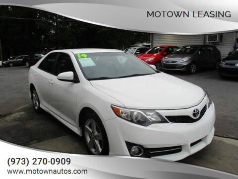 2014 Toyota Camry for sale at Motown Leasing in Morristown NJ