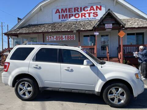 2012 Ford Escape for sale at American Imports INC in Indianapolis IN