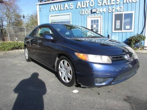 2006 Honda Civic for sale at Avilas Auto Sales Inc in Burien WA