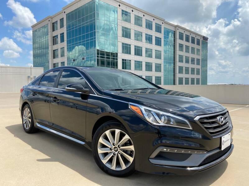 2017 Hyundai Sonata for sale at SIGNATURE Sales & Consignment in Austin TX